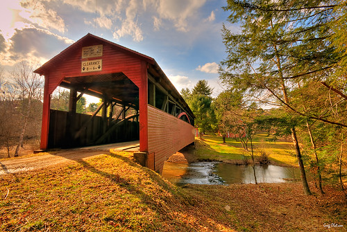 Cogan House/Buckborn Covered Bridge (Lycoming County, PA) | by Gregg Obst