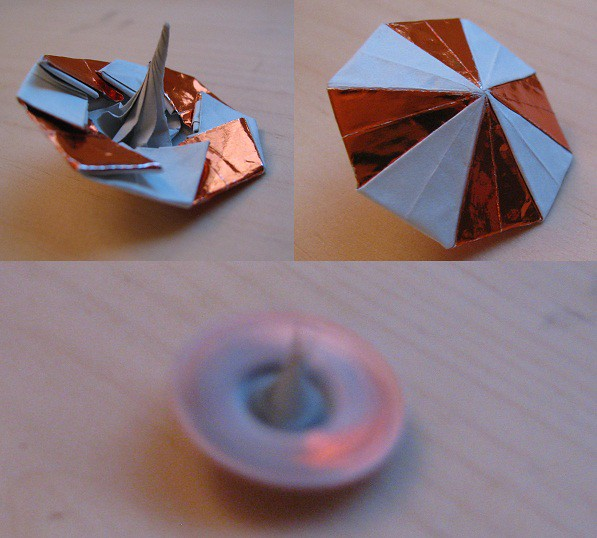 Spinning Top Artist Daniel Brown This Is An Origami Spinn Flickr