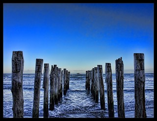 HDR Sea Posts | by Dan @ DG Images