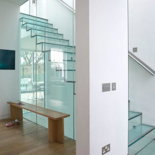 Glass staircase | by Lexis Developments