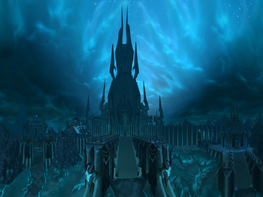 Icecrown Citadel | Panorama of Icecrown Citadel | Nick ...