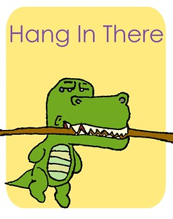 hang in there copy | by vinylsoda89