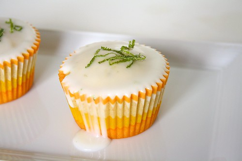 MSC: Triple Citrus Cupcakes | by Tracey's Culinary Adventures