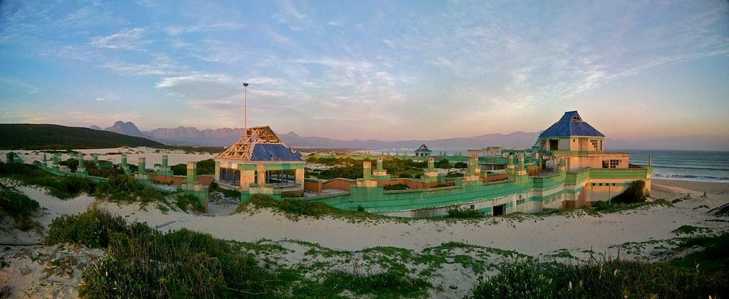 Return To Macassar Pavilion Sunset Over The Pavilion