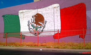 Mexican Flag Mural | by Ms. Phoenix