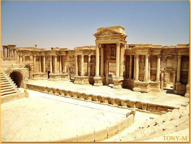 palmyra the theater flickr photo sharing