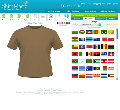 Custom T Shirt Design Software And Application Tool By Cbs