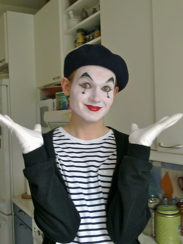 My Son the Mime | by knittinjo
