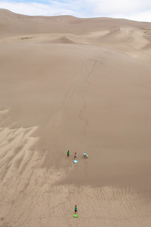 distances are deceiving at the great sand dunes | by woodleywonderworks