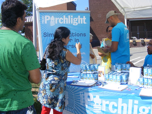 Project Porchlight at Gayatri Chetna Center | by One Change