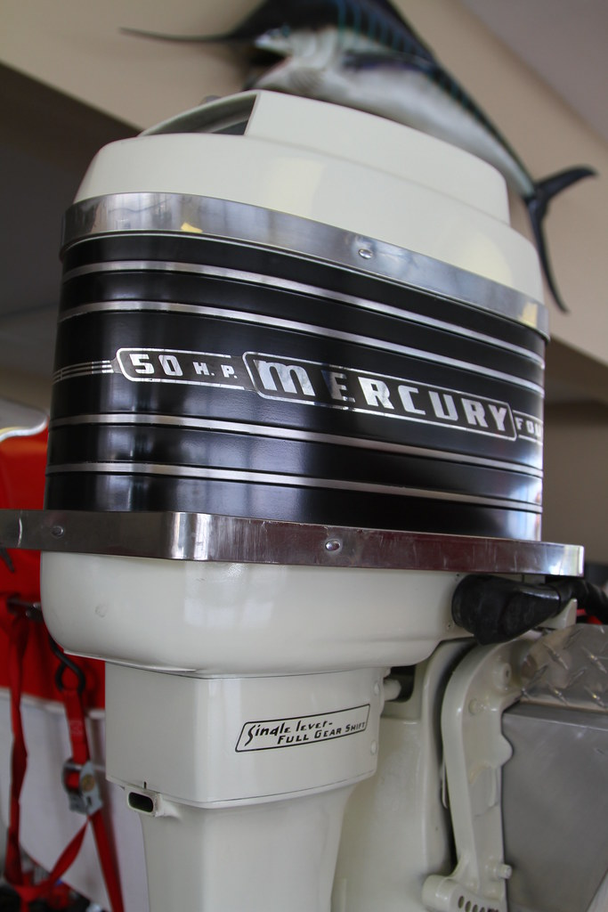 New outboard motors for sale vintage mercury 500 o b this for Vintage mercury outboard motors