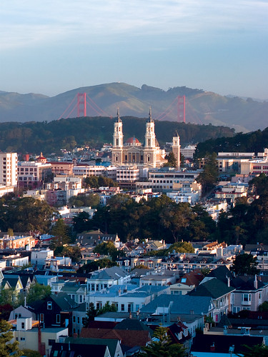 Golden Gate Bridge and St. Ignatius | by University of San Francisco