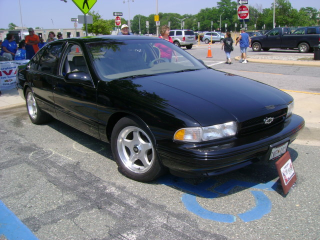 1996 Chevy Impala Ss Maryland Motor Vehicle