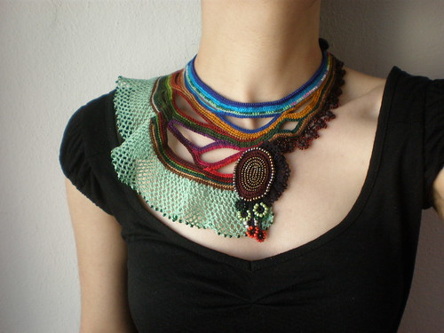 Costazia Costazi ... Freeform Crochet Necklace | by irregular expressions