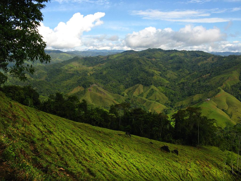 Paisaje De Montanas En El Oriente De Antioquia En La