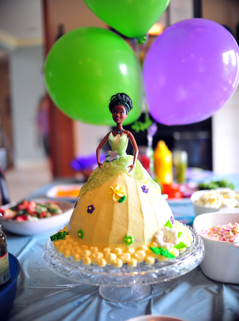 Princess Tiana Birthday Cake When 3 Year Olds Mother Is A Flickr