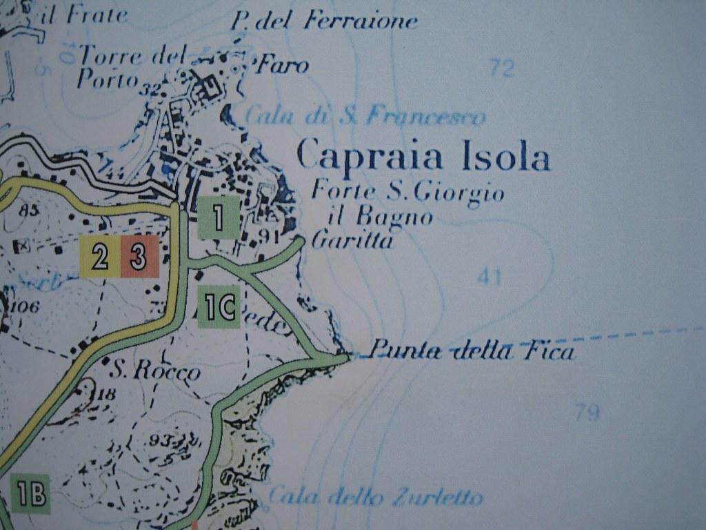 Punta della Fica Capraia Simone Carletti Flickr