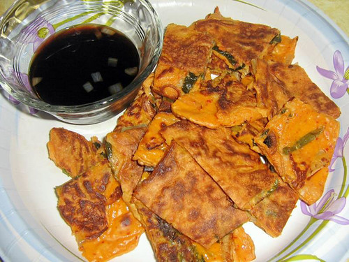Ina Wendel's Spicy Yachaejeon | by maangchi