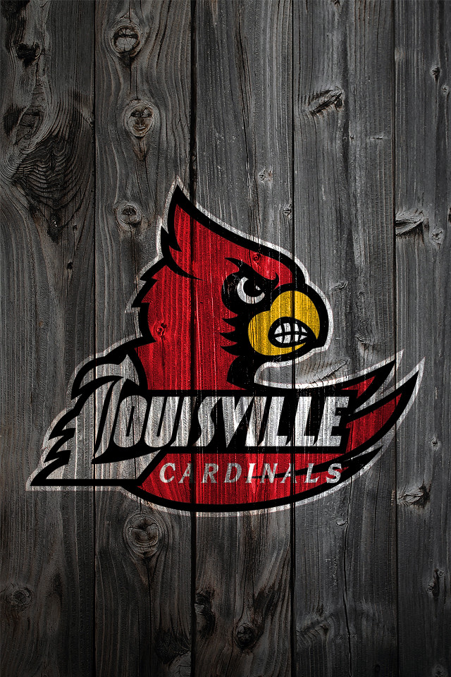 Louisville Cardinals Wood iPhone 4 Background | Louisville ...
