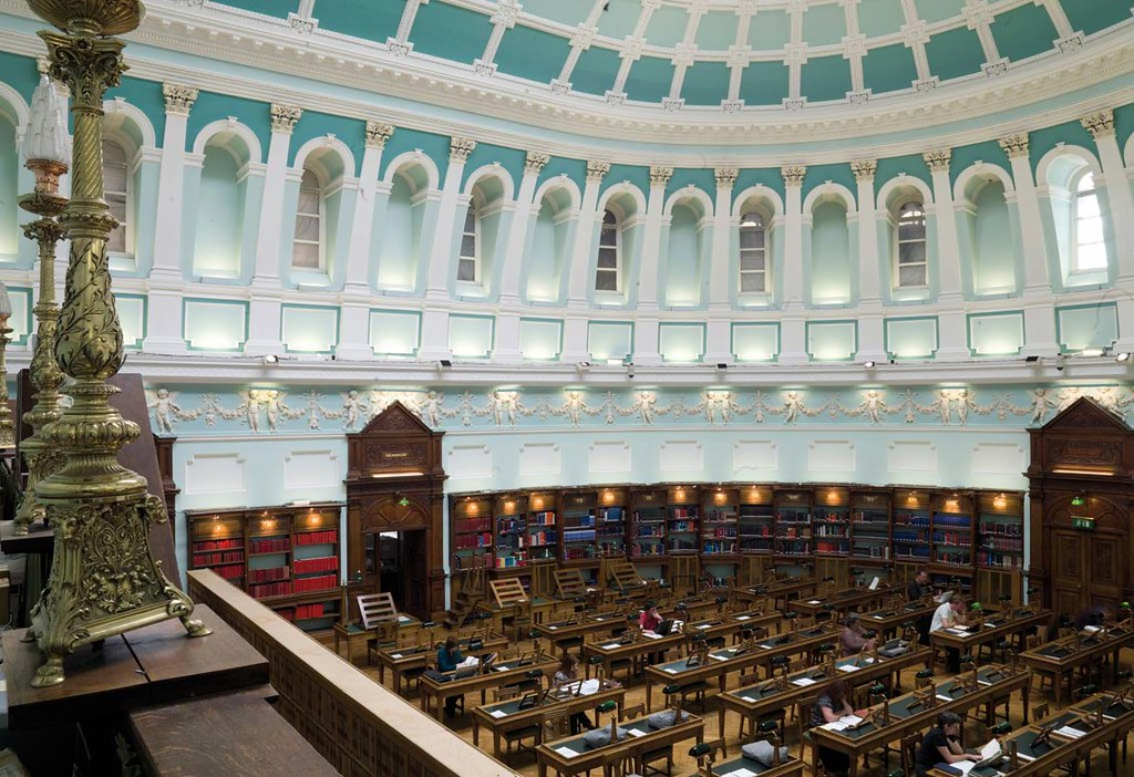 National Library Of Ireland Reading Room