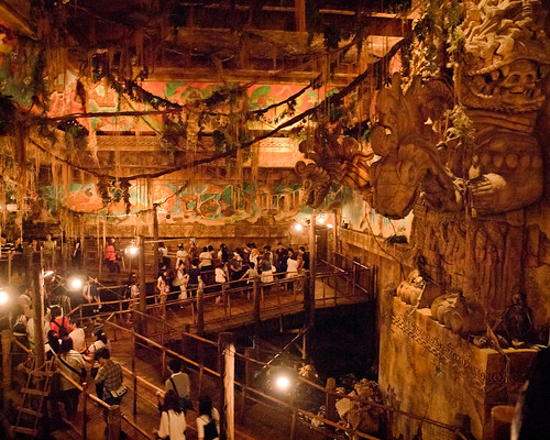 DisneySea Indiana Jones Queue | by Peter E. Lee