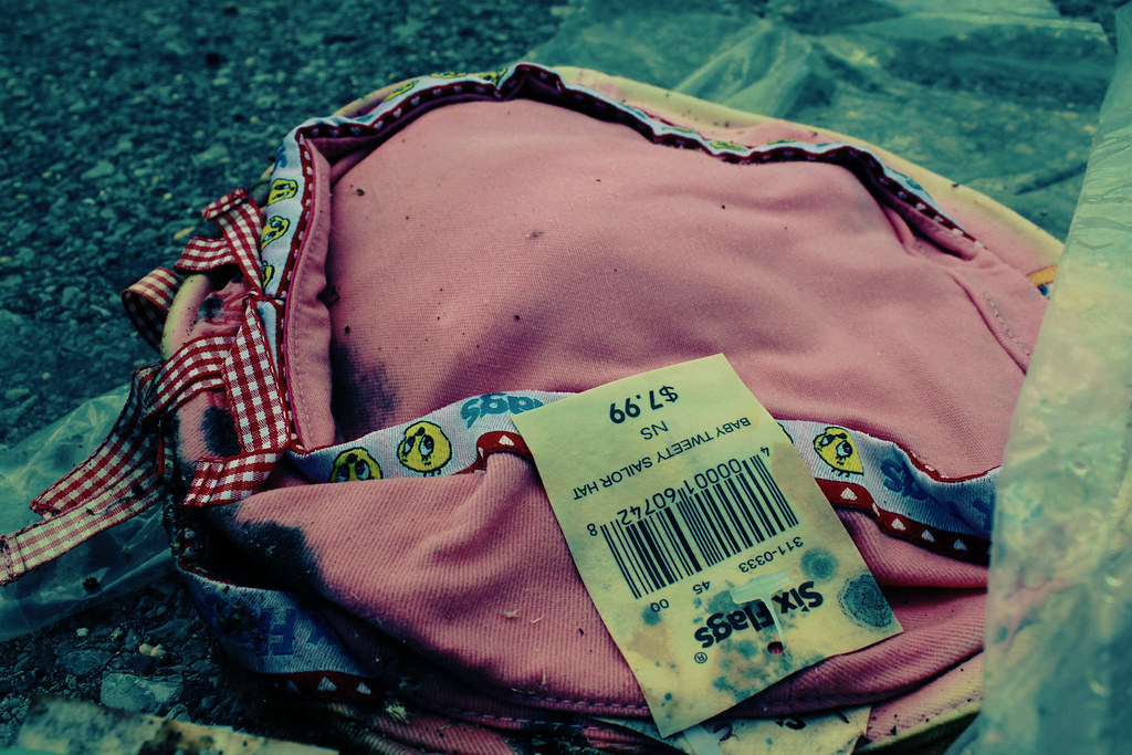 Six Flags New Orleans 4 | Discarded Tweety hat. New Orleans ...