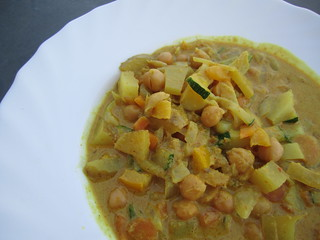 Chickpea curry | by veganbackpacker