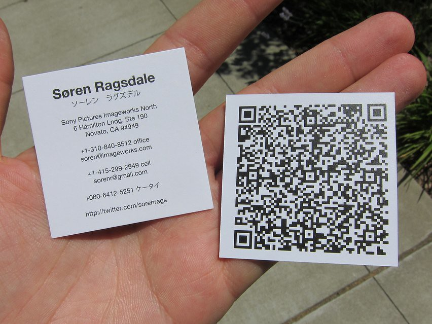 Qr Codes For Business Cards Gallery - Business Card Template