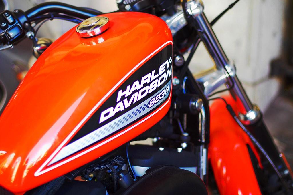 Harley Davidson Roadster Cafe Racer