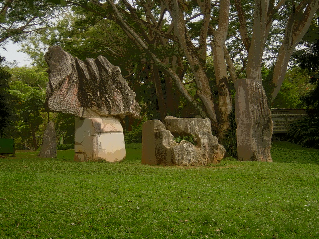 La experimental rio piedras este es el interior de la for Bodas en el jardin botanico de rio piedras