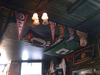 At @finley_dunnes where my #Mets pennant proudly hangs | by Julie Rubes