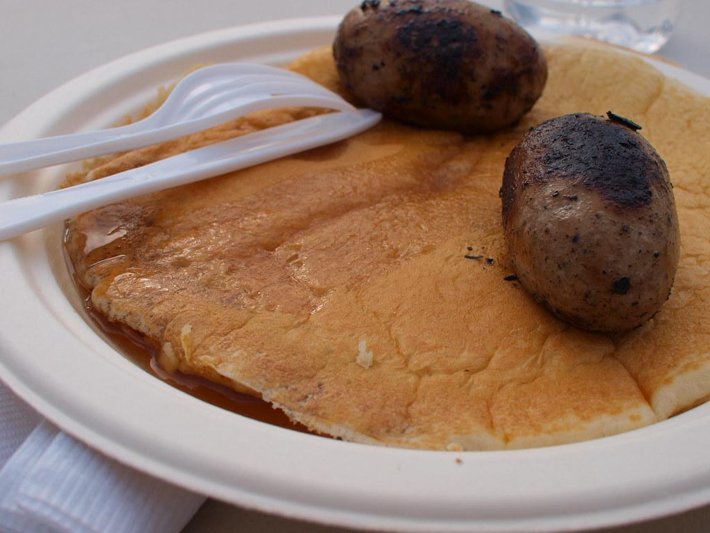 Calgary Stampede Breakfast Chinook Center Pancake