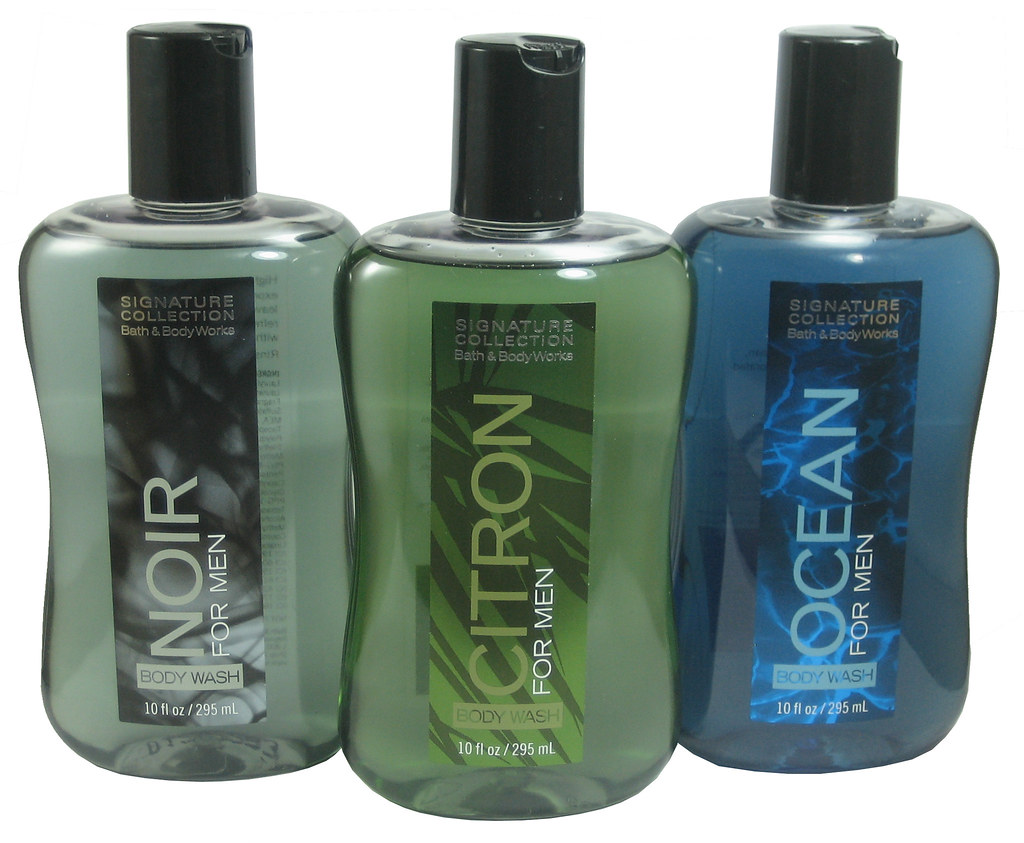Bath body works signature collection body wash for men for Mens bath set