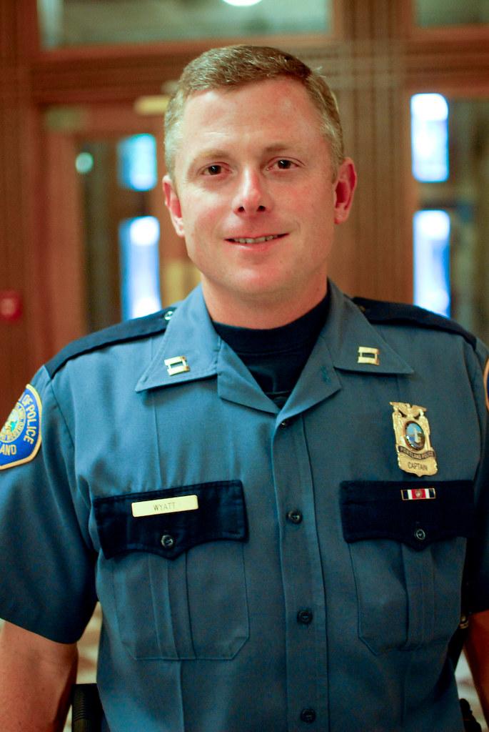 Officer Todd Wyatt Portland Police Bureau 1