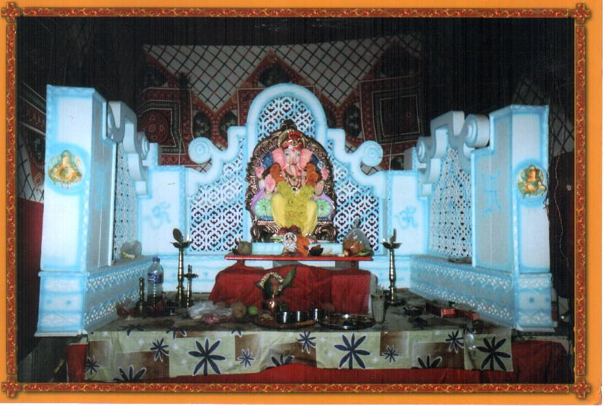 Wall Decoration Ideas For Ganpati : Gurukul sarvajanik ganesh utsav mandal ganpati flickr