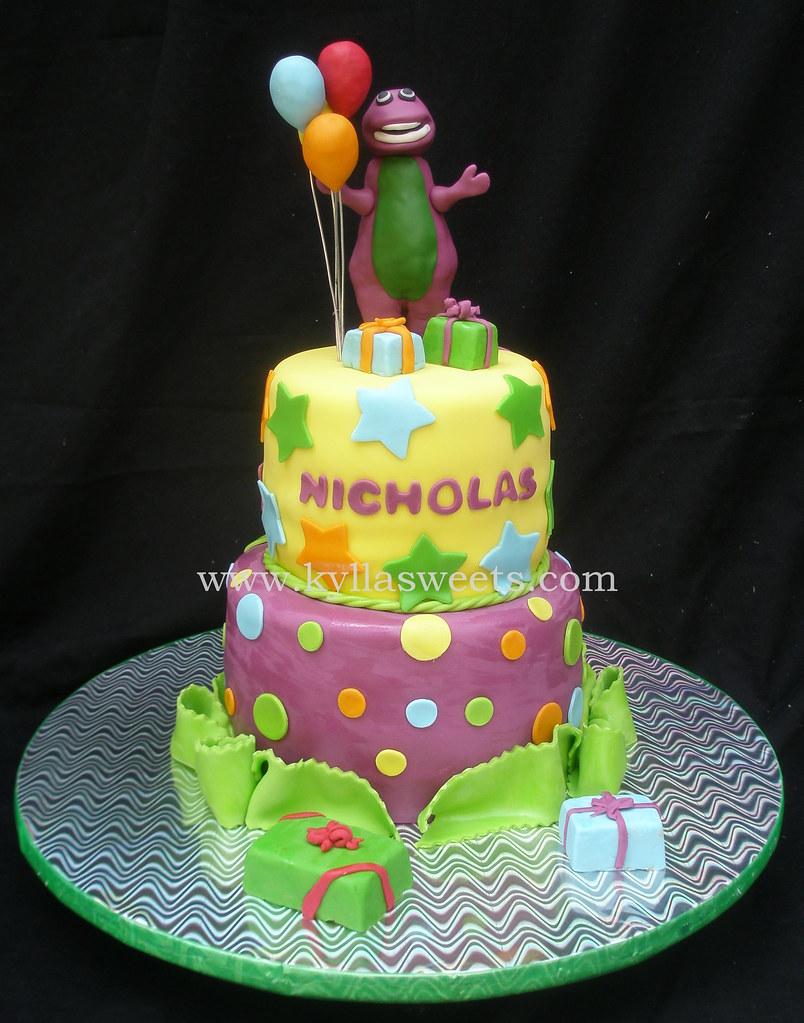 barney cake - photo #24