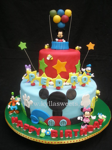 Mickey Mouse Clubhouse Cake 6 Quot 10 Quot Fernanda Lopes Flickr