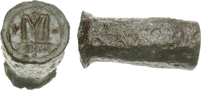 B1 The Only Extant Byzantine Coin Die to Survive from Anti ...