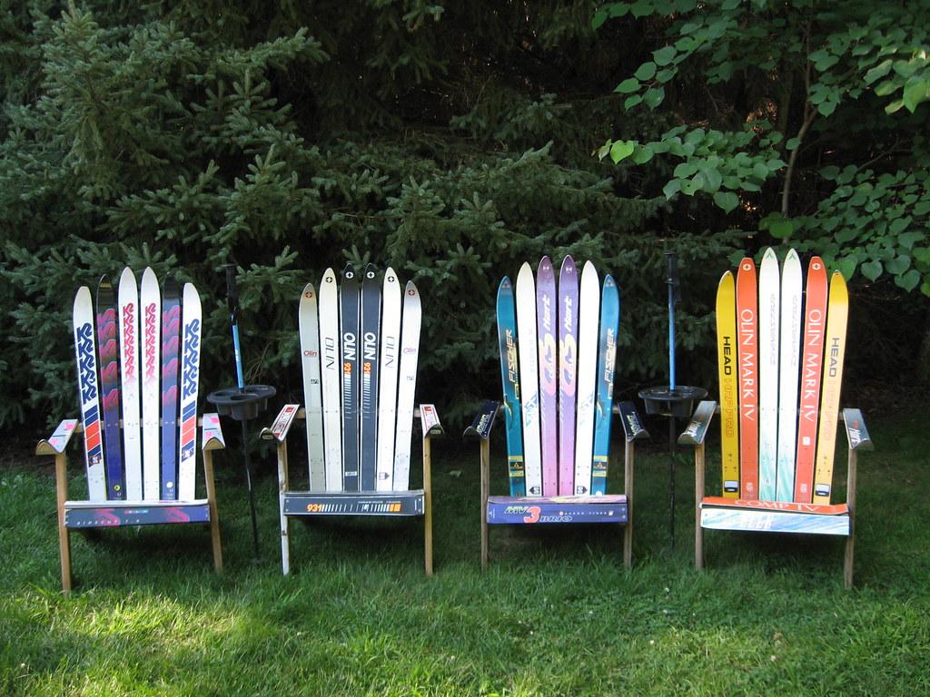 ... Adirondack Ski Chair | By A Past RePurposed Furniture U0026 Accessories