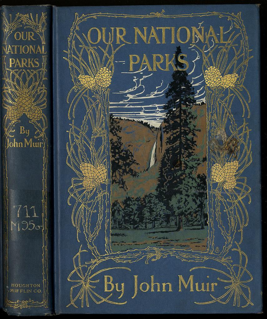 Book Cover Portadas Office : Our national parks muir john boston houghton mifflin