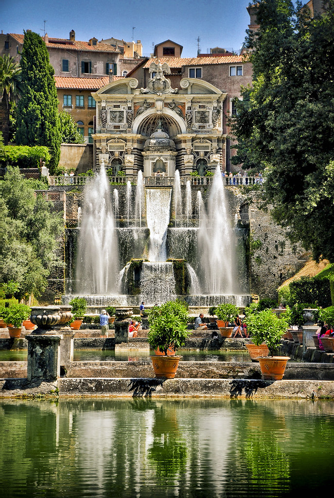 iv the organ fountains from the fishponds at villa d 39 este flickr. Black Bedroom Furniture Sets. Home Design Ideas