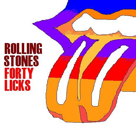Rolling Stones: Forty Licks, by Ben Murcott | Paintmyalbum ...