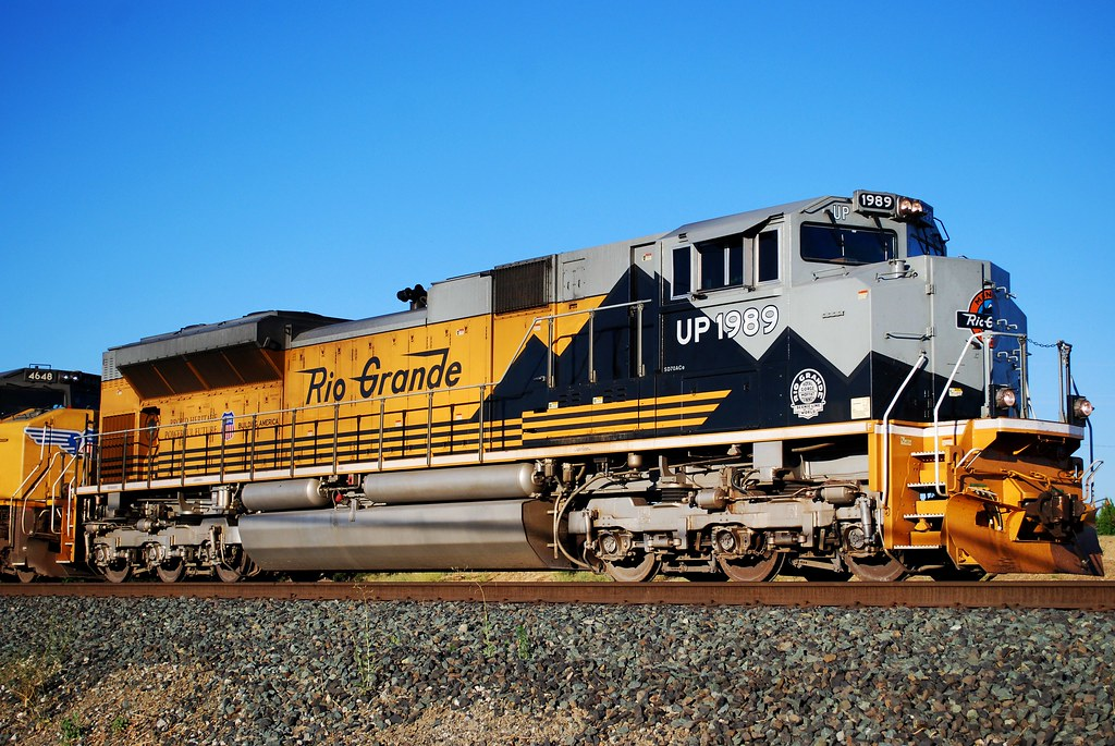 Union Pacific Sd70ace Heritage Unit 1989 Rio Grande Flickr