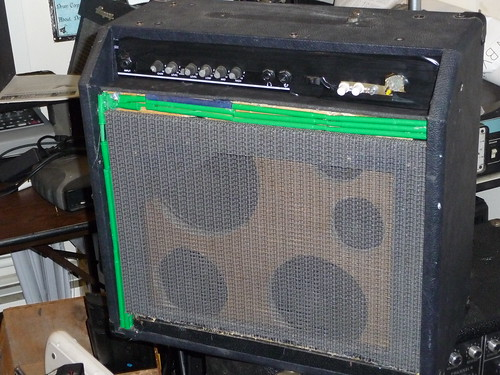 Frankenstein Guitar Amp Build | by Push The Other Button