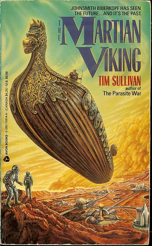 The Martian Viking - Tim Sullivan - cover artist Ron Walotsky