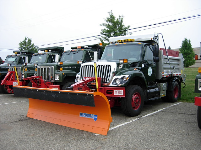 Green Oh Snow Plow Truck Flickr Photo Sharing