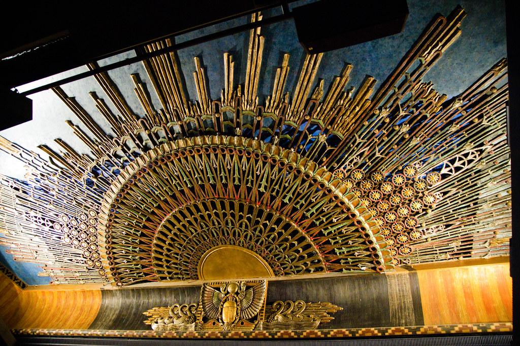 Grauman's Egyptian Theatre ceiling interior | Website ...