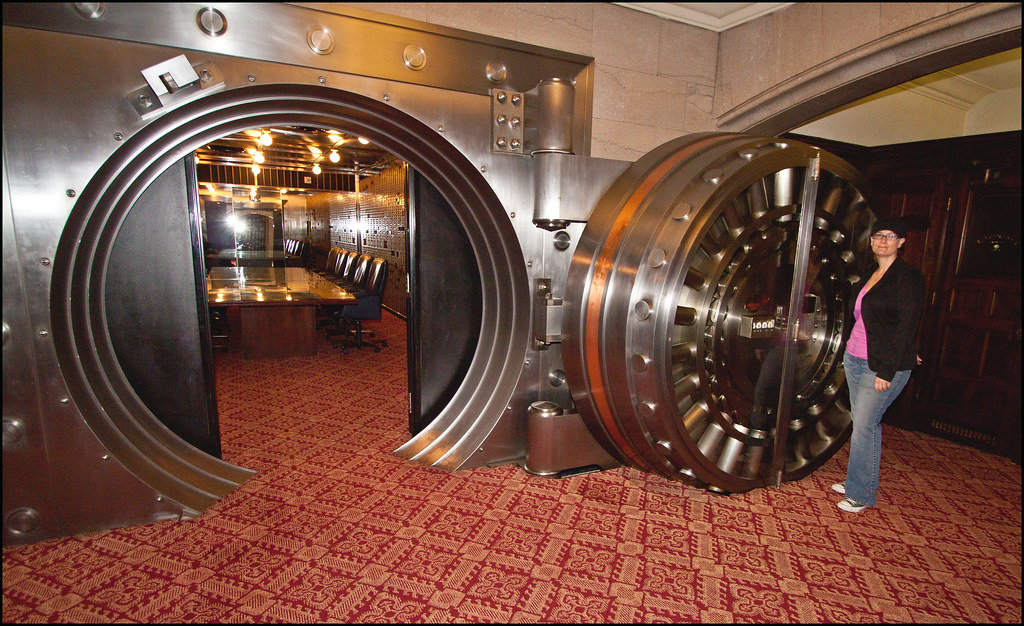 Bank Vault Room At The Courtyard Marriot Photo Taken At