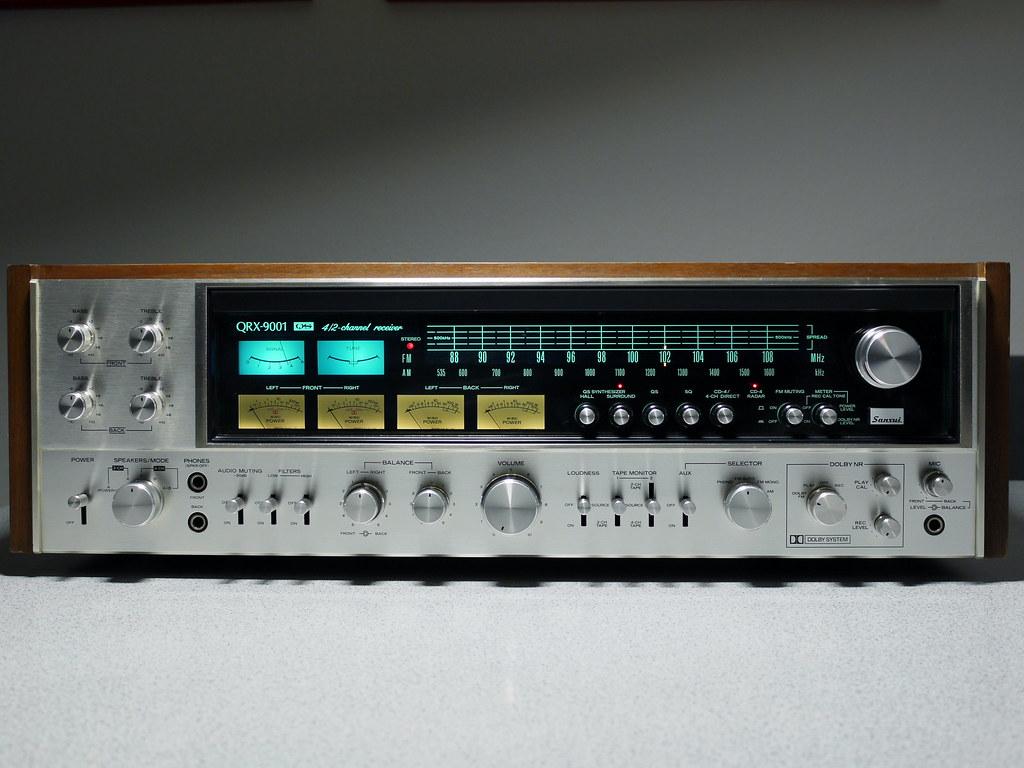 Sansui Qrx 9001 Quadro Receiver 1979 Sansui S Biggest