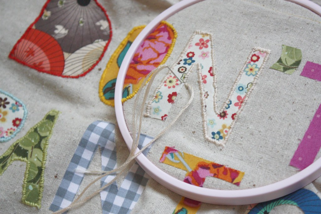 Free Applique Letters Embroidery Designs